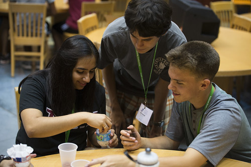 ENGN Students Create Water Filtration Systems