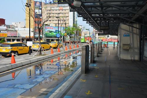 台中BRT:A01臺中火車站停用後
