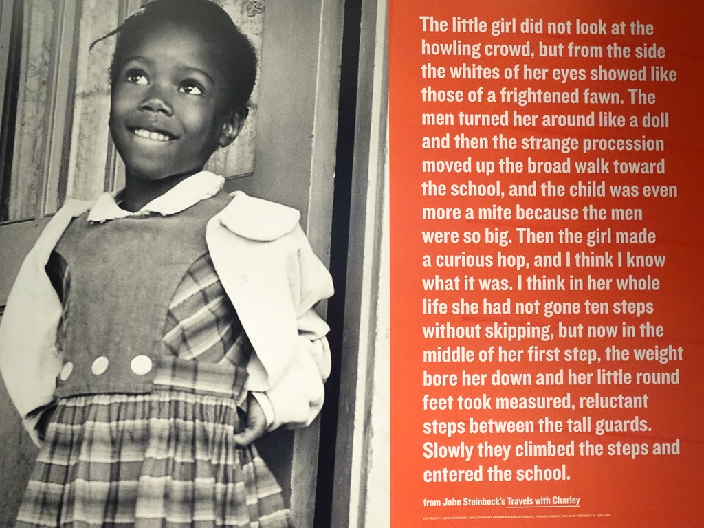 Detail of Exhibit on Ruby Bridges - Center for Civil and H ...