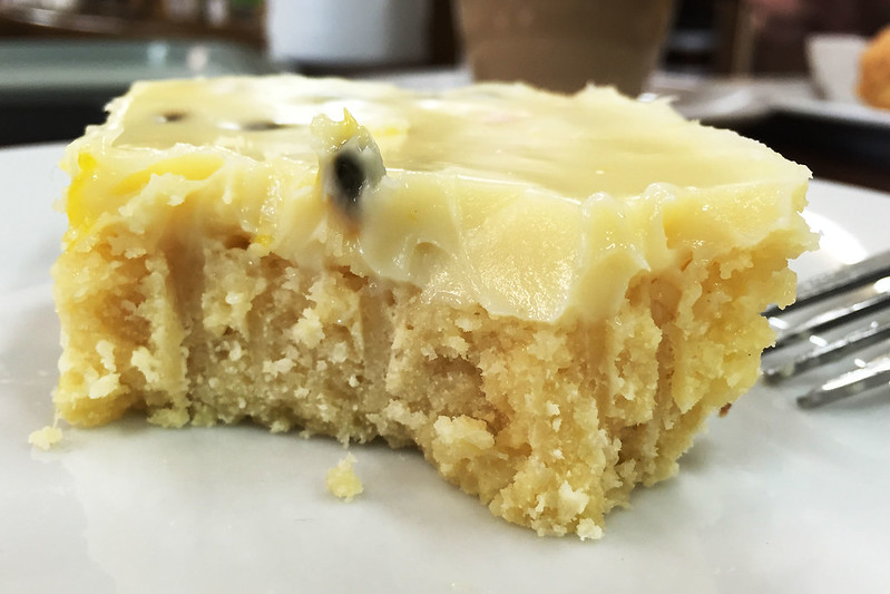 Vanilla slice, The Pines Orchard Cafe