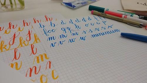 Brush Pen Calligraphy Class
