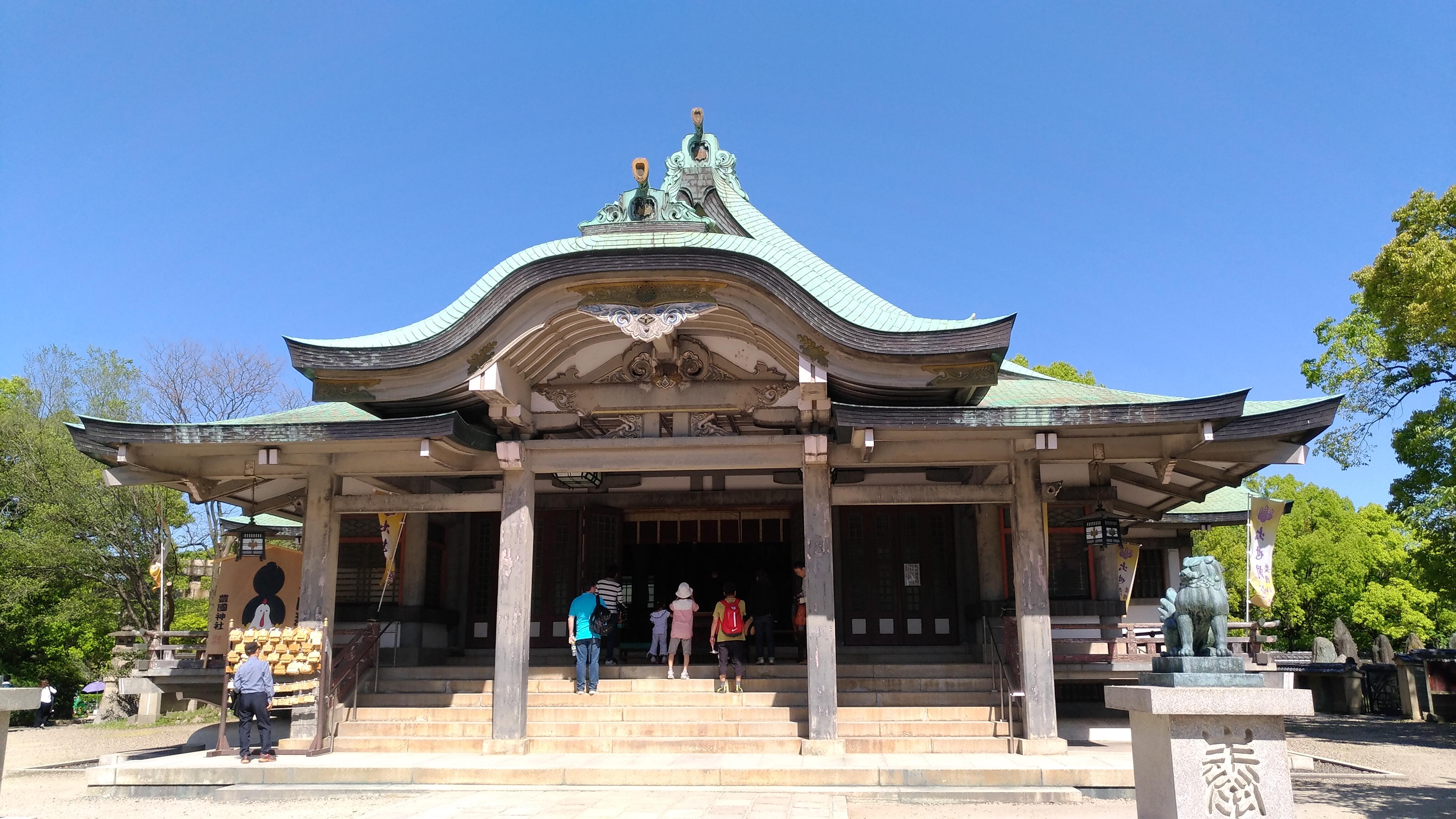 大阪城豊國神社