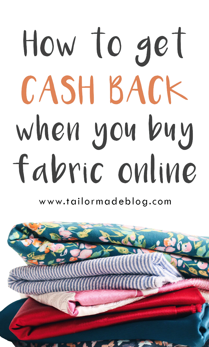 How to Get Cash Back When You Buy Fabric Online
