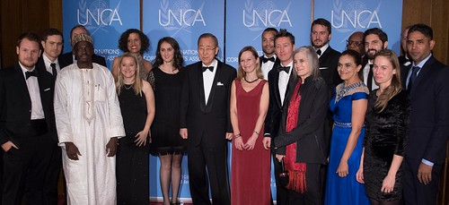 2015 UNCA Award Winners Group Photo