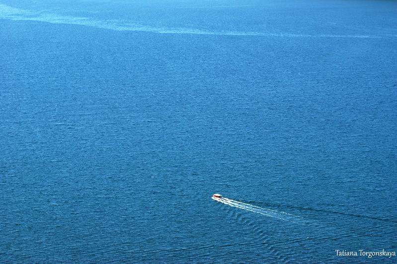Кораблик в Адриатическом море