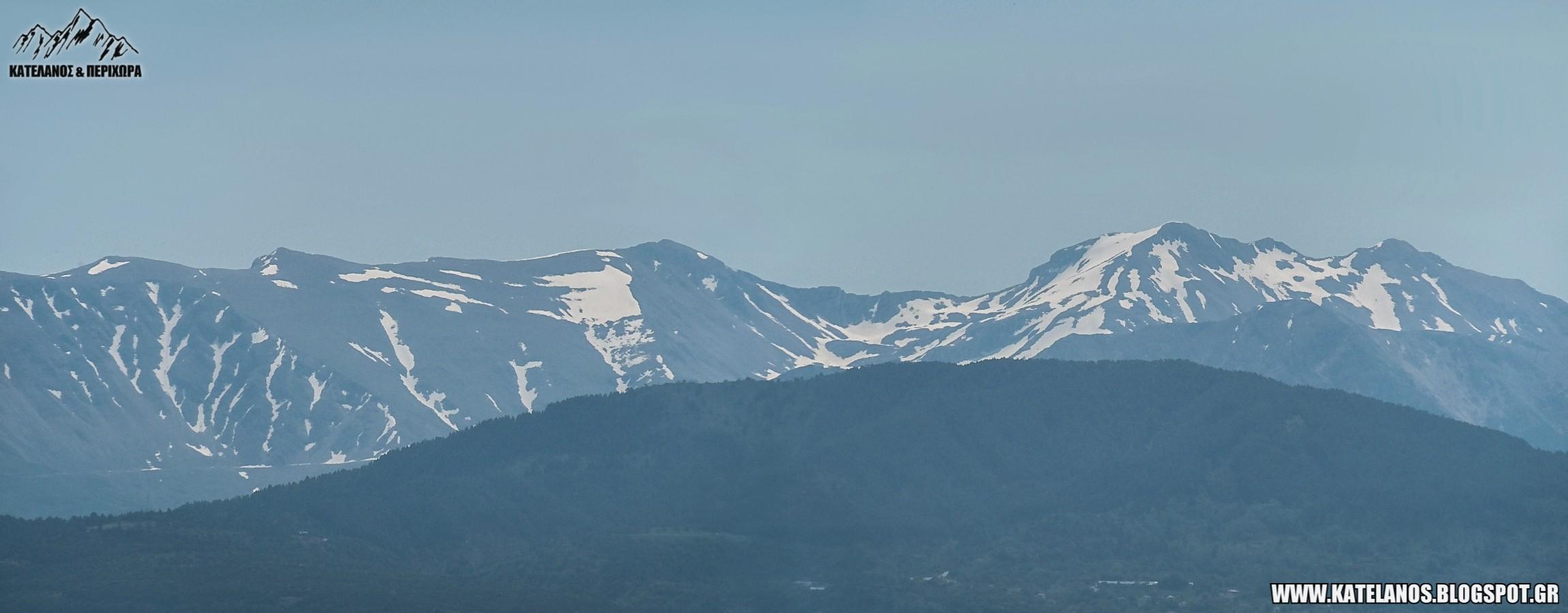 κακαρδιτσα υψομετρο χιονουρες βουνο κορυφη