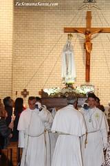 Virgen de Fatima procesión