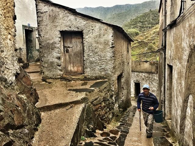 Detalle de la alquería de El Gasco (Las Hurdes)