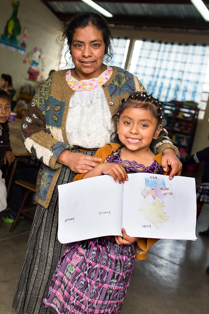 Guatemala primary school reading program
