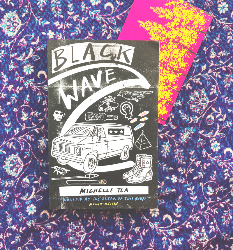 black wave michelle tea book haul blog book blogger vivatramp