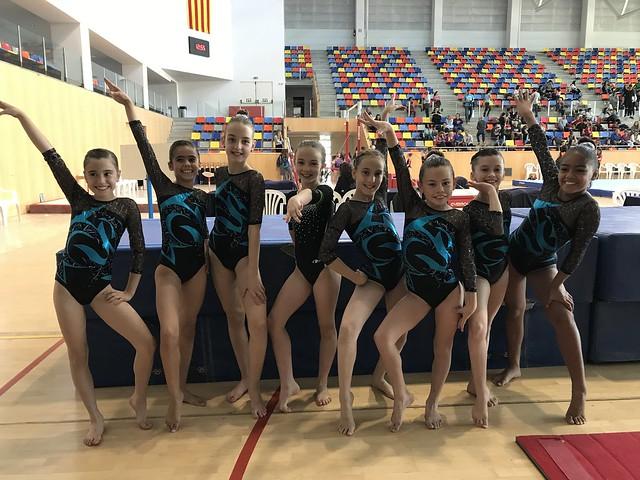 3ª Fase de la Copa Catalana d'Inigym i Promogym -individual i per equips- de gimnàstica artística femenina