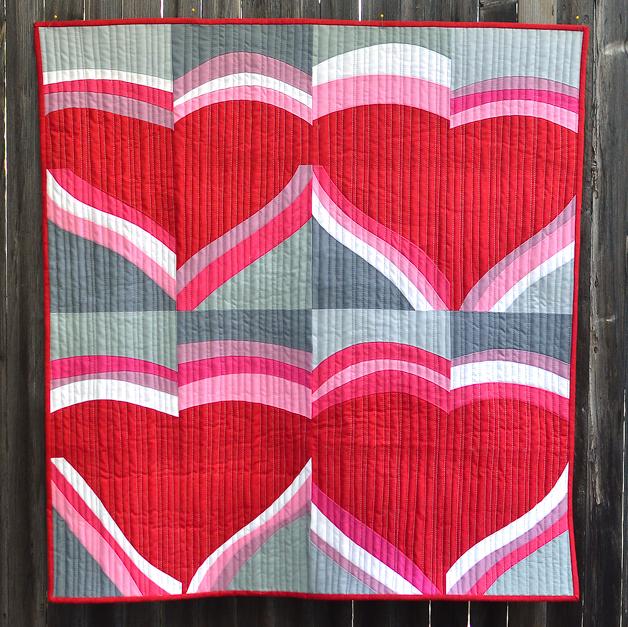 Valentine Quilt Tutorial