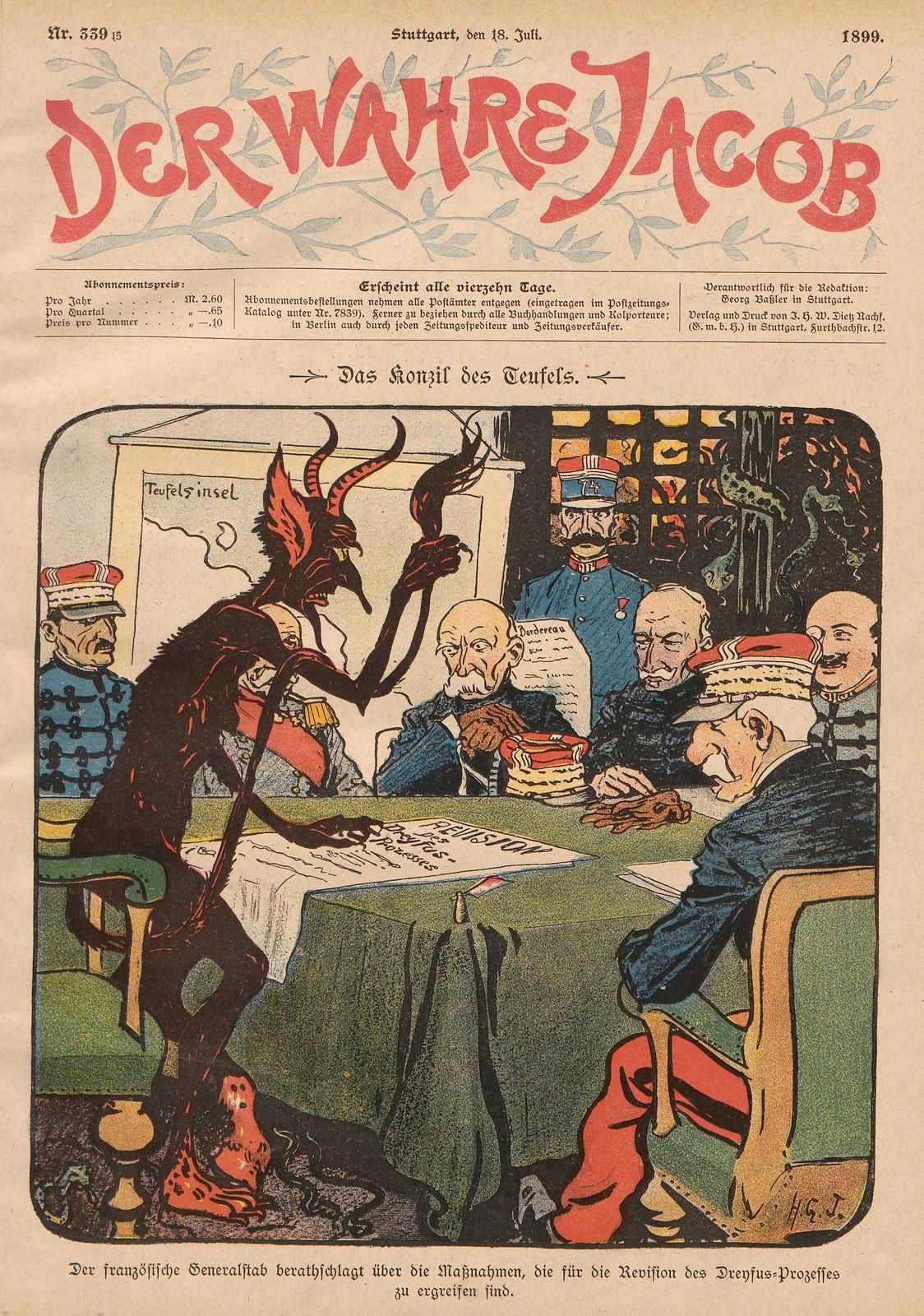 Hans Gabriel Jentzsch - The Council of the Devil, 1899