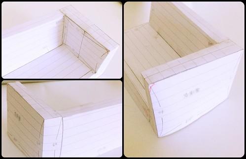 ソファー型紙