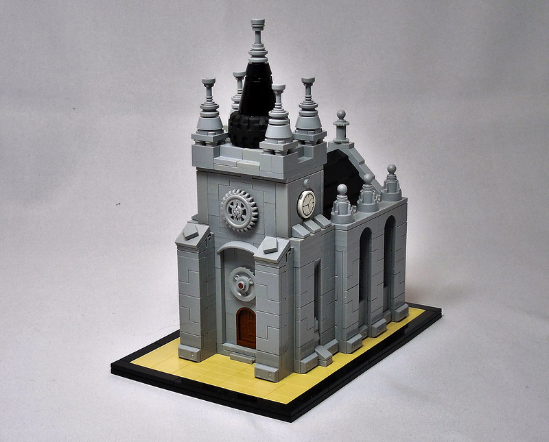 LEGO® MOC by Vitreolum: The Wicked Zoot Abbey