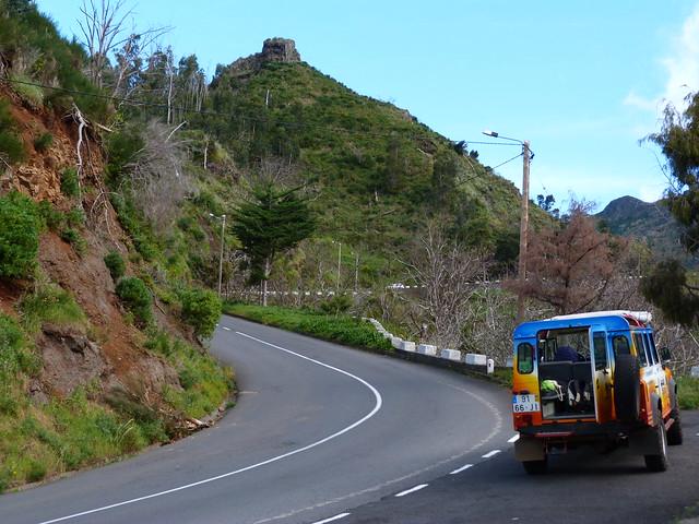 Carretera en Madeira