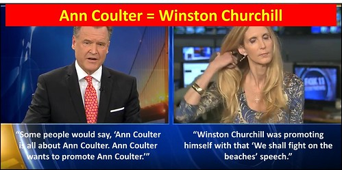Ann Coulter = Winston Churchill | by CoulterWatch