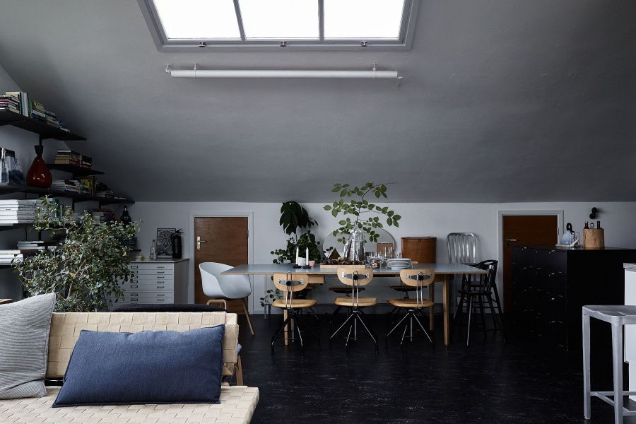 Dark But Very Gorgeous Swedish Home