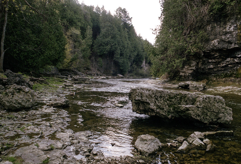 Branch of the Grand River Looking South
