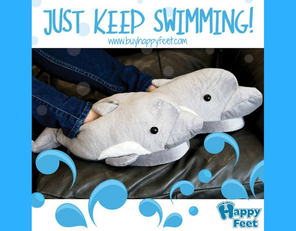 really cheap limited guantity reputable site Happy Feet - Dolphin - Animal Slippers | Delilah is a bottle… | Flickr