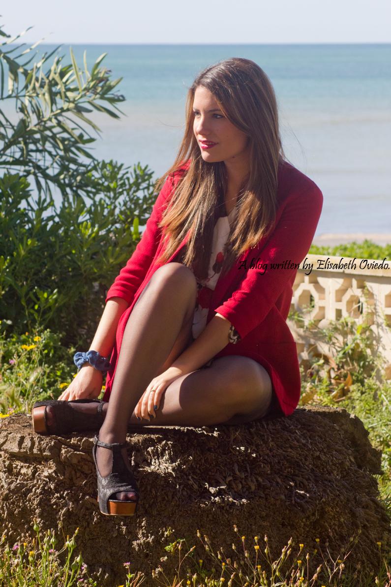 heelsandroses elisabeth oviedo blazer roja zara temporada primera verano (2)