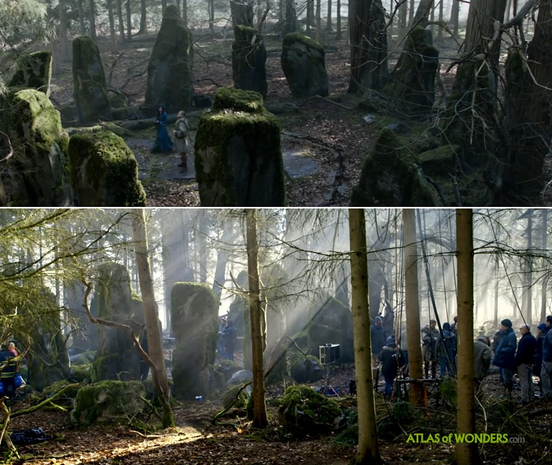 King Arthur locations