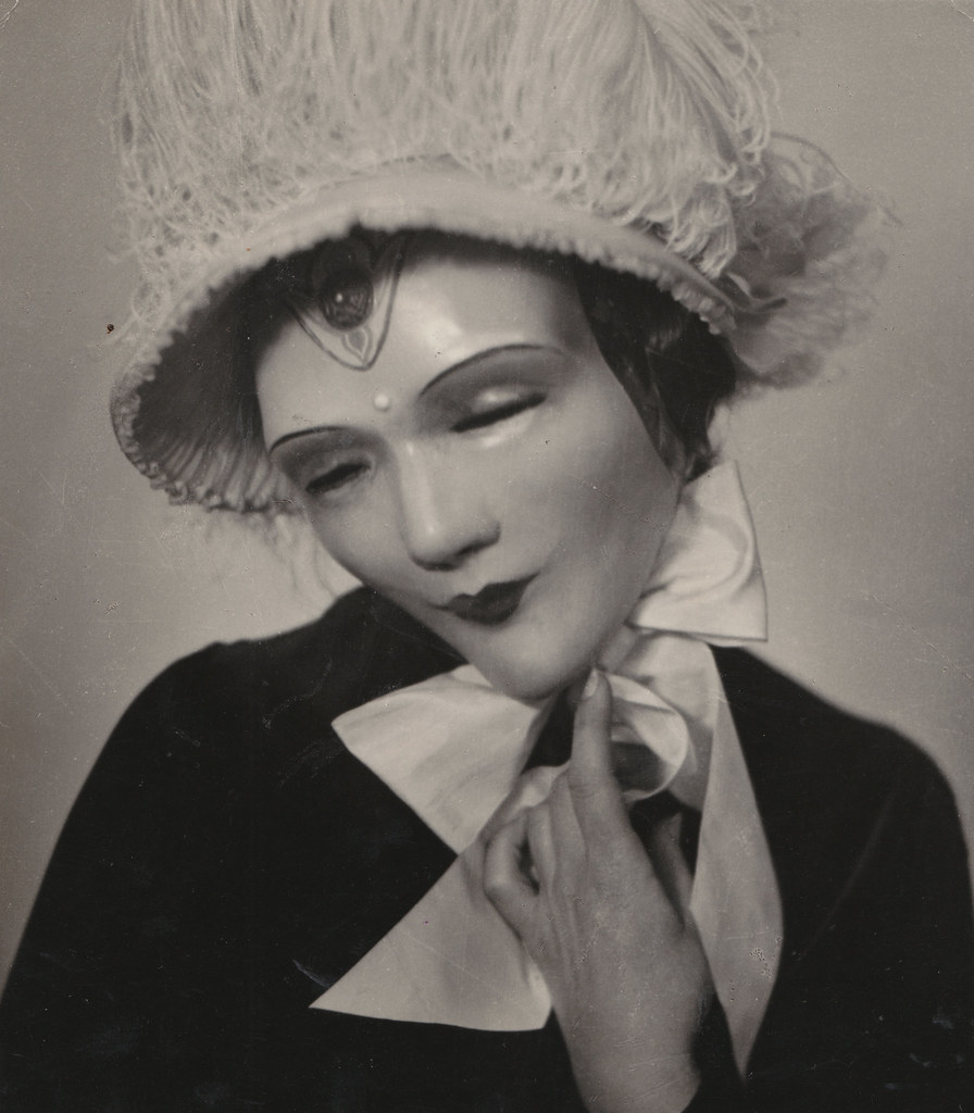 William Mortensen - Masked Woman, 1926