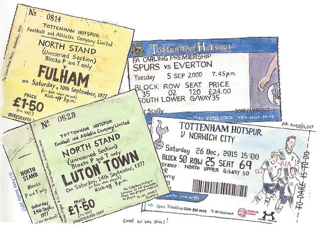 THFC tickets