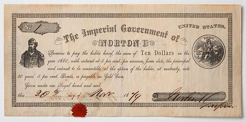 Murdock Emperor Norton scrip note
