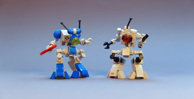 Neo Classic Space Robots