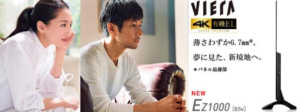 【動画】綾瀬はるか・西島秀俊「4K有機EL」ビエラ65型の新CM公開!