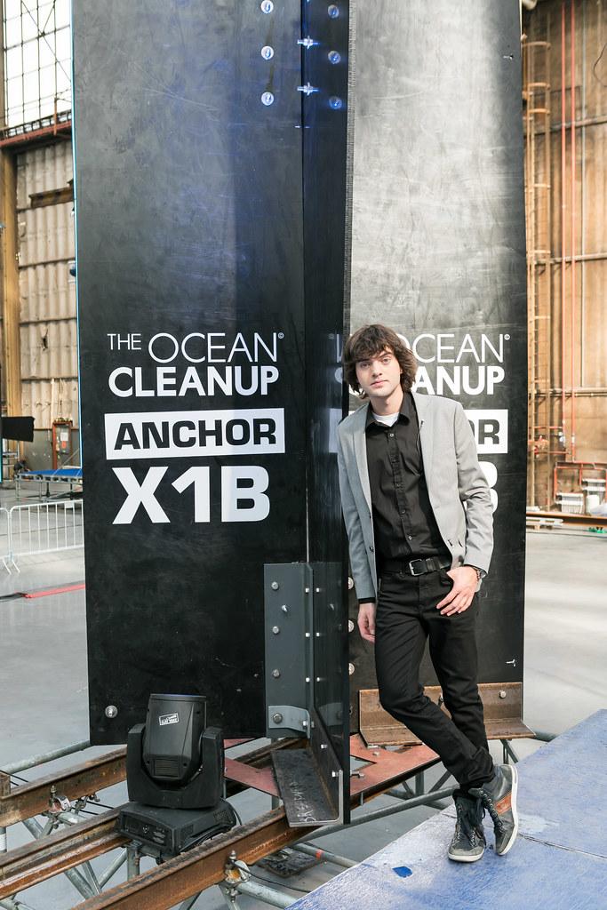 史萊特(Boyan Slat)。圖片來源:By Erwin Zwart/The Ocean Cleanup