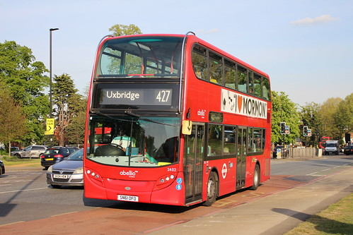 Abellio London 2402 on Route 427, Ealing Common