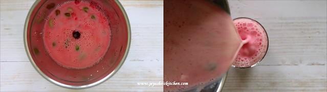 rose badam milkshake 2