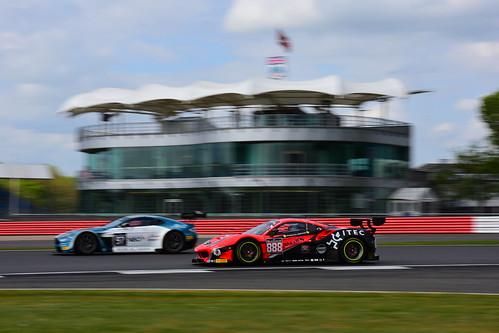 Marco Zanuttini - Jacques Duyver - David Perel, Ferrari 488 GT3, Blancpain GT Series Endurance Cup, Silverstone 2017