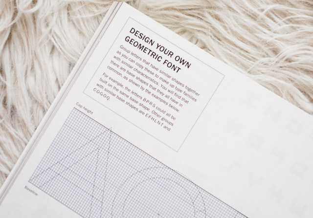 design your own geometric font