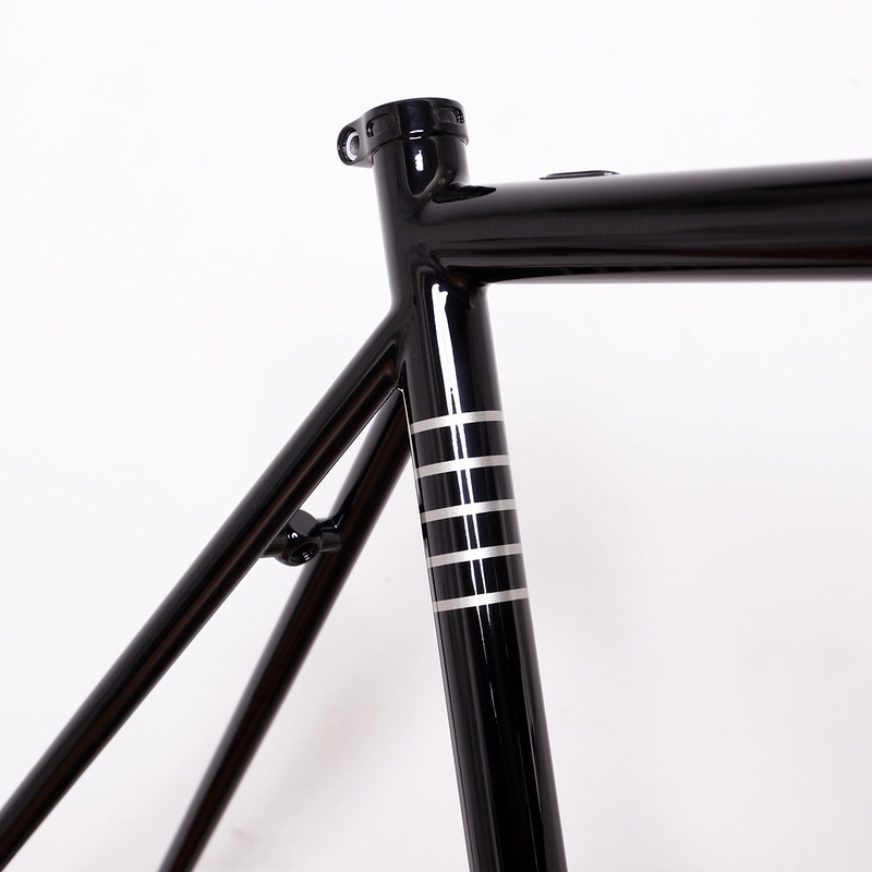 EQUILIBRIUM CYCLE WORKS Road Frame & ENVE Road Fork Painted by Swamp Things