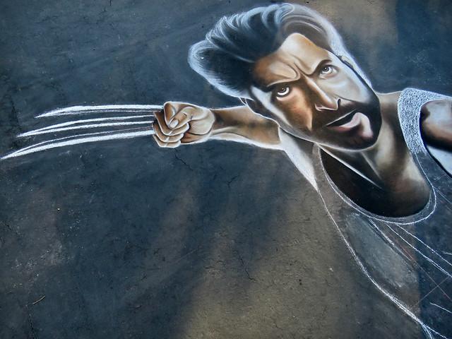"""""""Wolverine"""" Chalk Magic"""