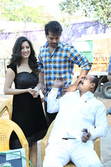 RakshakaBhatudu Movie Working Stills