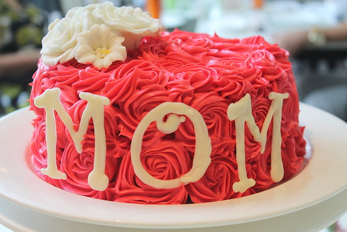 Mother's Day Cake (Red Velvet with Buttercream) | Blissful MOMents Only For The Best Mom at Seda Abreeza