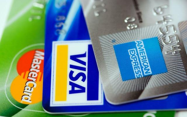 Tarjetas de credito visa american express