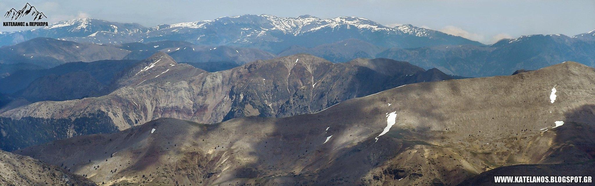 πλατανακι παναιτωλικου ορους τριανταφυλλια βουνο