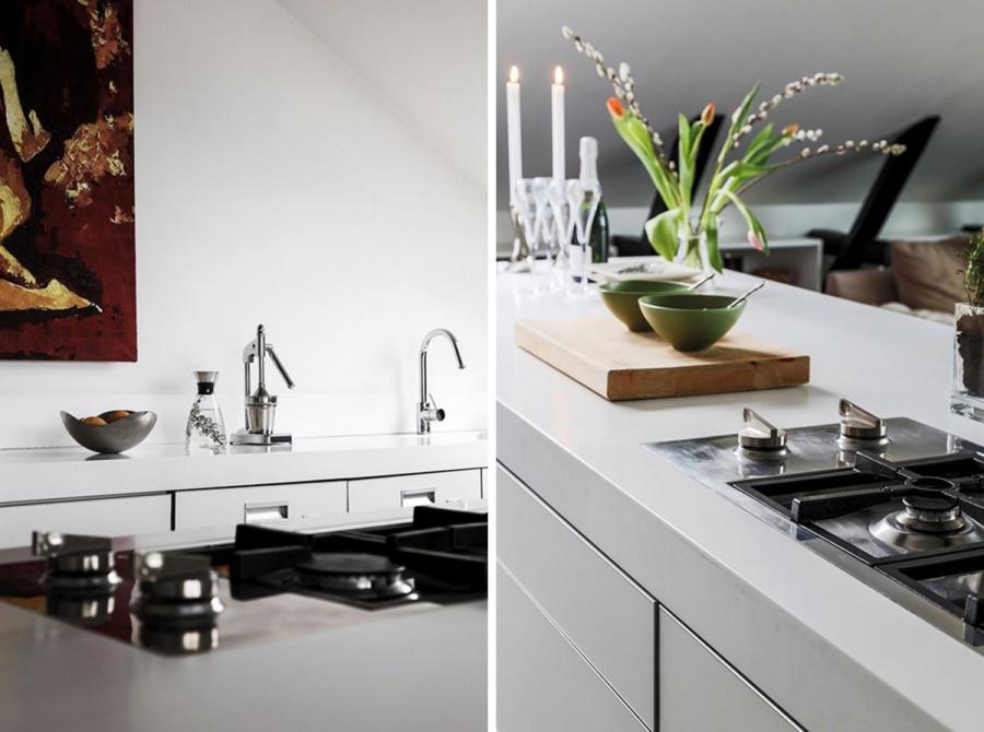Gorgeous White Attic Home Design Inspiration