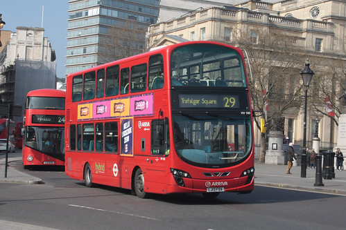 Arriva London HV100 LJ13FDA