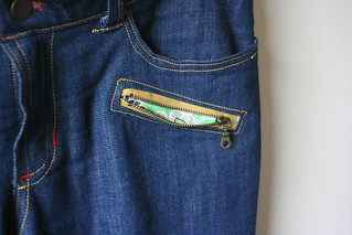 Ginger Jeans with Exposed Zippers | by patternandbranch