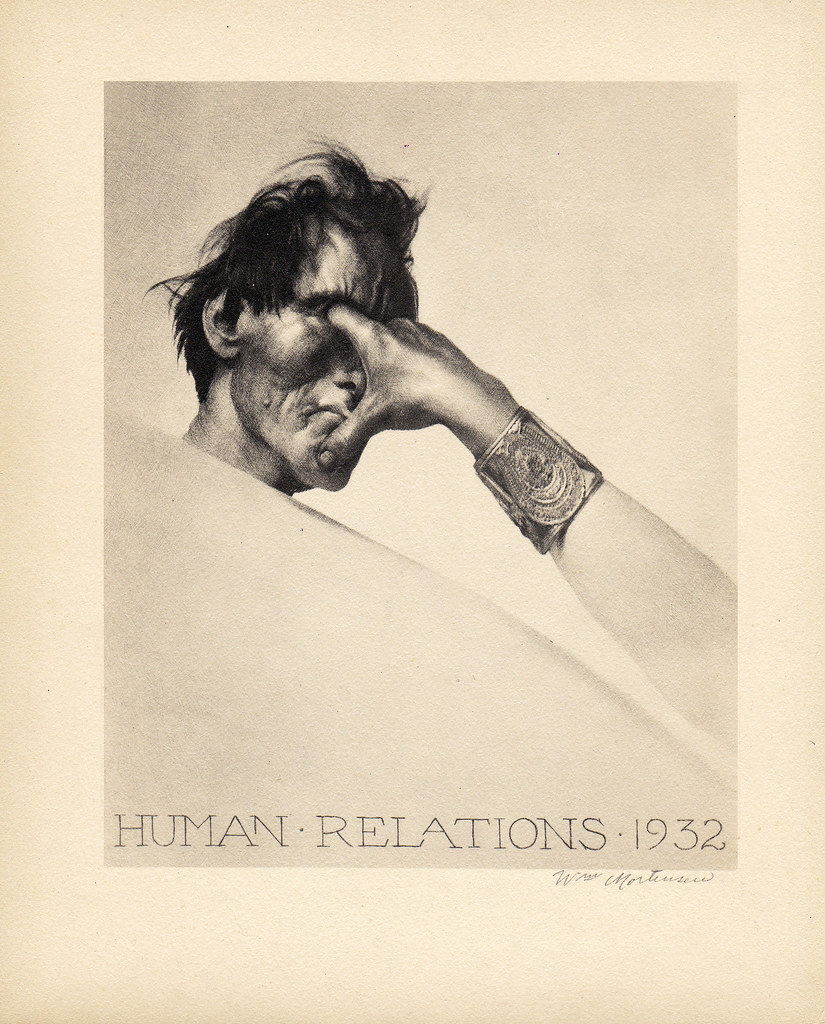 William Mortensen - Human Relations, 1932
