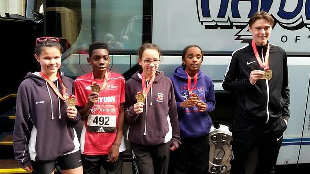 Virgin London Mini and Marathon 2017
