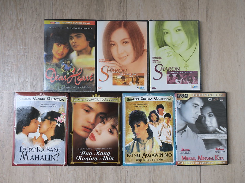 Sharon Cuneta DVDs