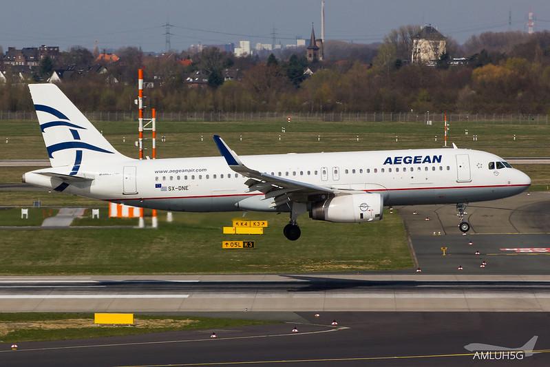 Aegean Airlines - A320 - SX-DNE (1)