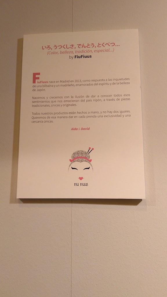 Exposición de Kimonos en Heroes Manga Madrid